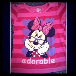 💜Adorable💜 Minnie Mouse Girls Top